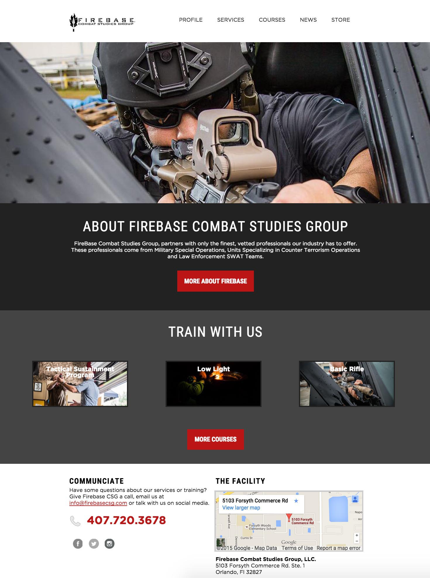 Firebase Combat Studies Group